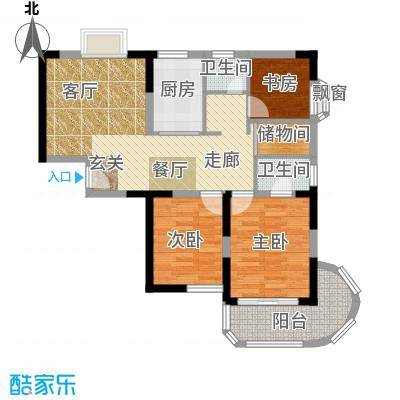雯锦雅苑86.00㎡101m2户型