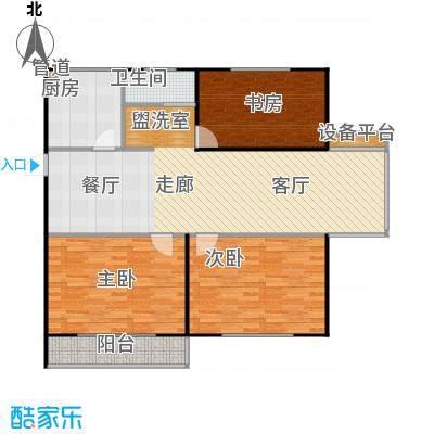 华夏名都117.30㎡F建筑面积1173户型