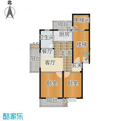 塞纳名邸65.79㎡户型