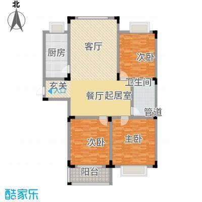 丽景苑139.58㎡D户型