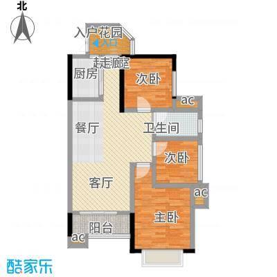 上海城三期单张31栋K3户型