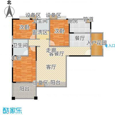 东海豪园13016-13673M2户型