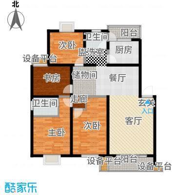 高新花苑141.00㎡户型