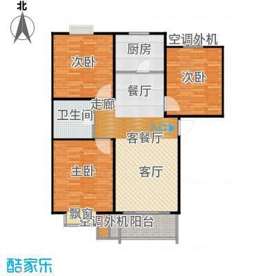 圣源新居户型3室1厅1卫1厨