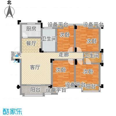 桂竹苑112.30㎡150m2户型