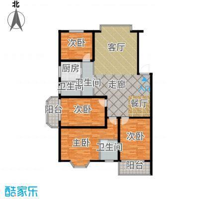 鑫湘佳园140.00㎡B户型