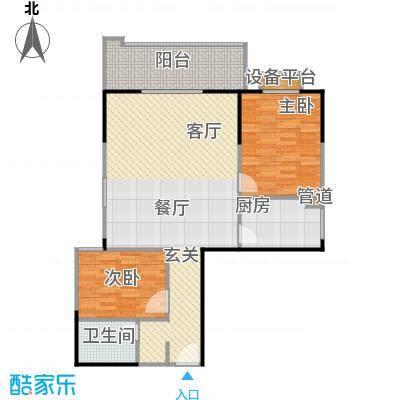 百盛・天心华庭96.33㎡B20户型