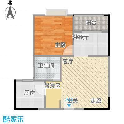 聚维书香世家26.91㎡房型户型