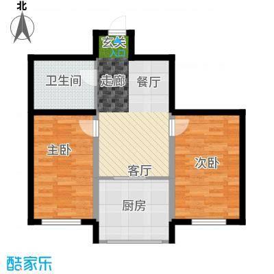 凯悦花园62.20㎡-2户型