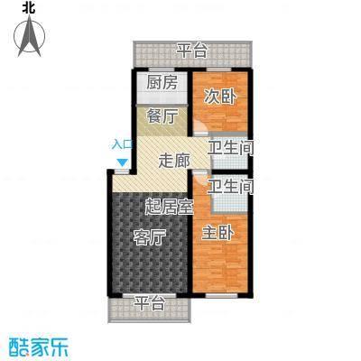 净馨家园75.00㎡户型