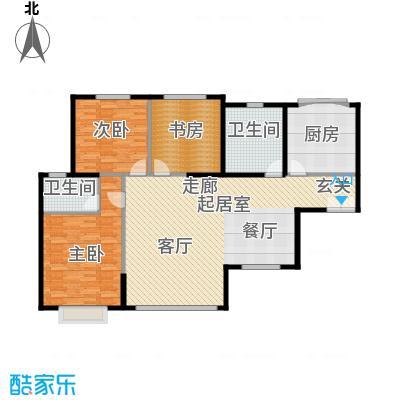 青洲豪庭133.58㎡A1户型