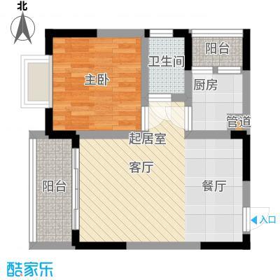 春光港湾44.82㎡房型户型