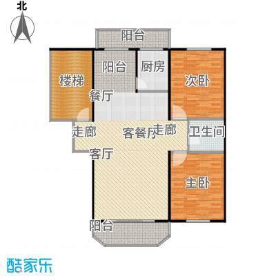 盛天家苑139.24㎡户型