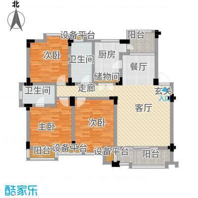 桂竹苑112.30㎡140m2户型