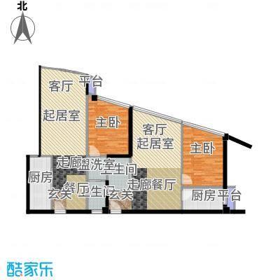 泰时・三湘金地70.00㎡1栋户型