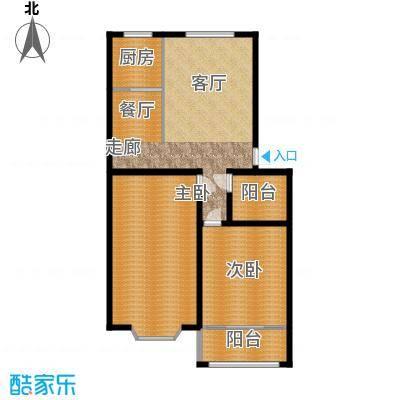 山海顺沁苑110.00㎡户型