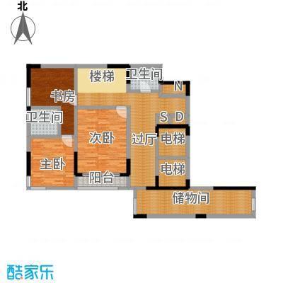 峰景鉴筑C-104-首层上层-户型