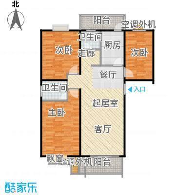 圣源新居户型3室2卫1厨