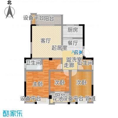 汉景嘉园128.00㎡C户型