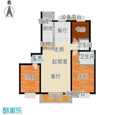 唐南香榭142.00㎡户型