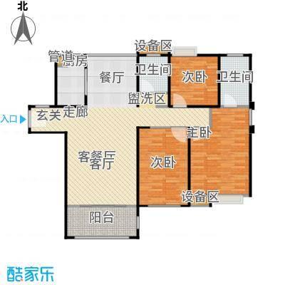唐荣天润新城125.00㎡E户型