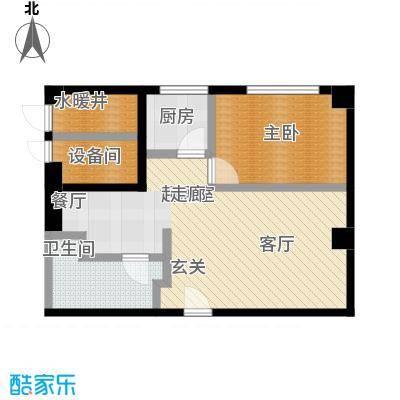 舜江广场60.78㎡户型