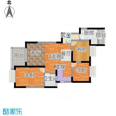 丰景佳园105.57㎡户型