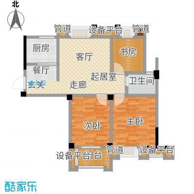 汉景嘉园88.00㎡A户型