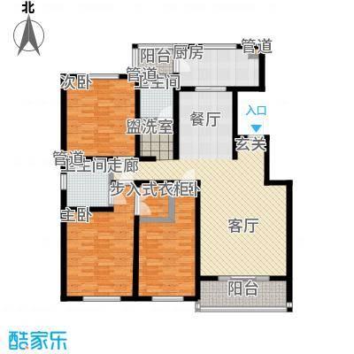 雅秀园户型3室1厅2卫1厨