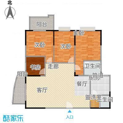百盛・天心华庭163.41㎡B19户型