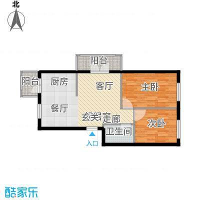 江畔方元新区30.00㎡-(使用面积)-216套户型