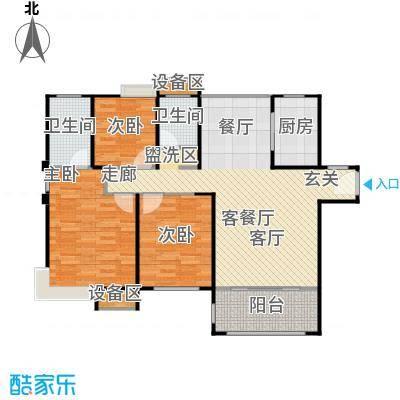 唐荣天润新城116.00㎡D户型