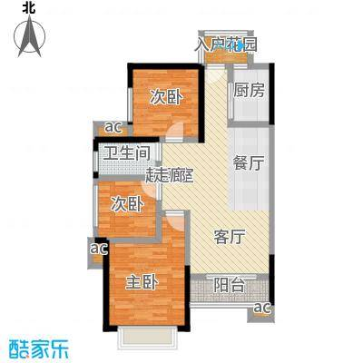 上海城三期单张31栋K2户型