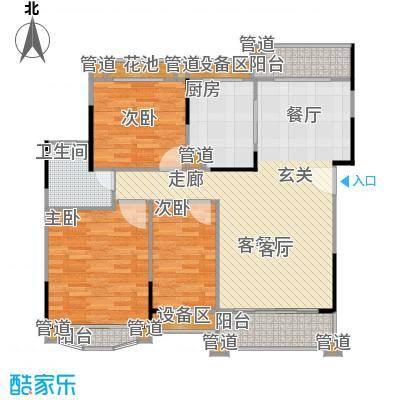丹霞翠微苑113.02㎡10748m2户型