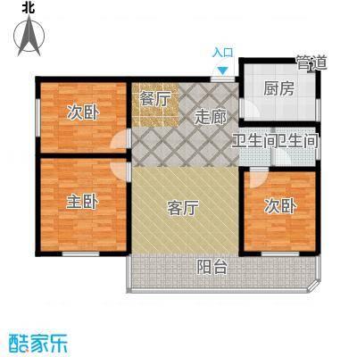 鑫湘佳园90.00㎡B2户型