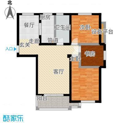 文锦新城12084m2户型