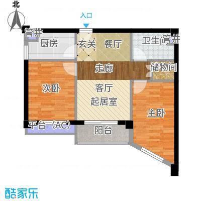 南枫时光71.86㎡户型