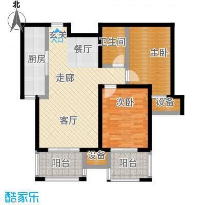 中景・盛世长安92.00㎡19号楼B7户型