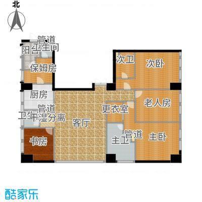 龙吟广场户型4室1厅2卫1厨