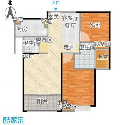 唐荣天润新城87.00㎡A户型