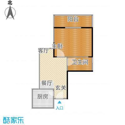 鼎盛国际公寓63.07㎡-50套户型