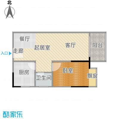 上林国际56.27㎡C户型