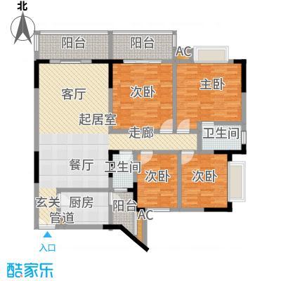 五童路后勤基地123.40㎡房型户型