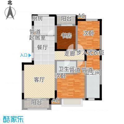 万树香堤C16+1花园洋房英伦隐贵三居户型