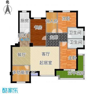 长鹭・晶品缘林130.00㎡户型
