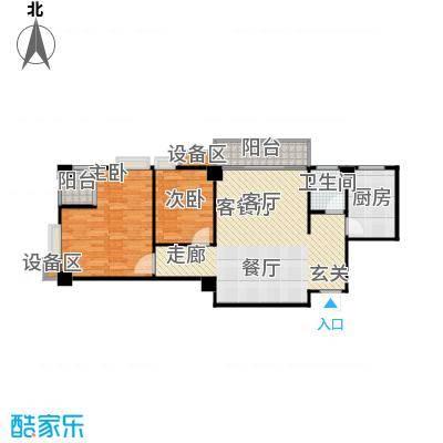 楚天馨苑100.42㎡户型