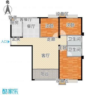唐荣天润新城111.00㎡B户型