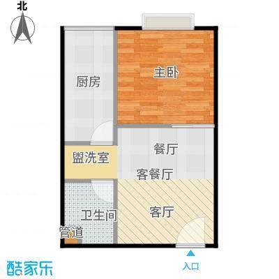 颐美会现代城40.00㎡A5户型