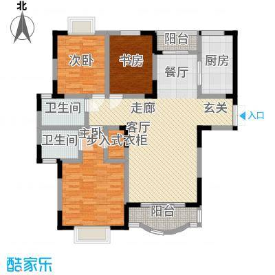 恒润花园124.31㎡13382m2户型