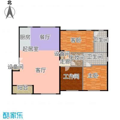 锋尚国际公寓190.00㎡C5户型